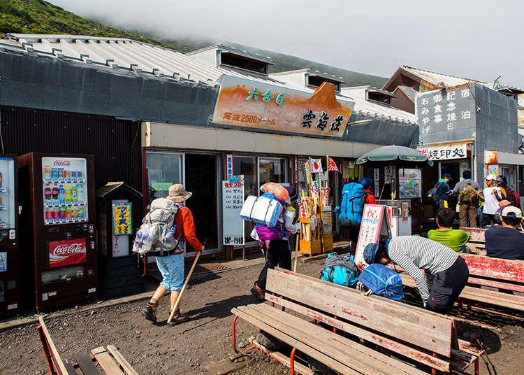 Staying at a Mountain Hut