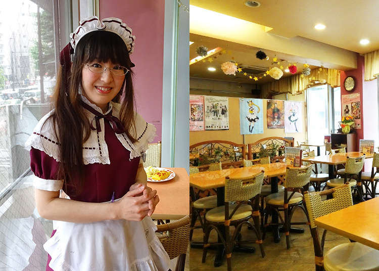 潜入女仆咖啡厅的老铺!