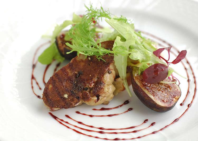 可轻松用餐的正统派法国菜餐厅