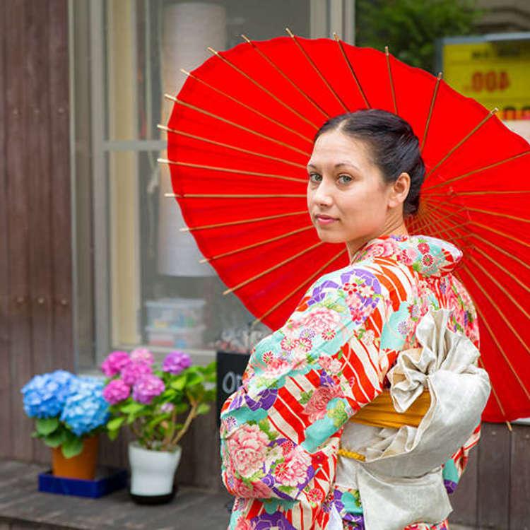 [MOVIE] 東京の伝統ある街で着付け体験