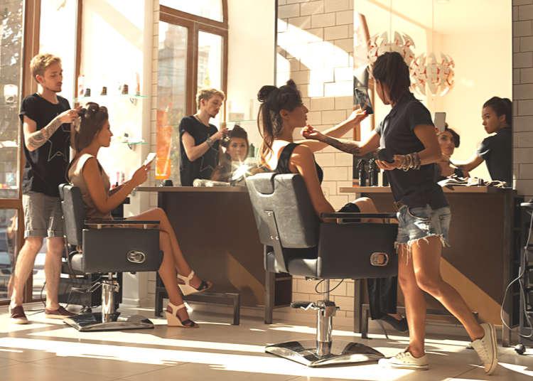 Tokyo's Seven Most Stylish & International Hair Salons