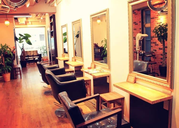 Is this a café or a salon?