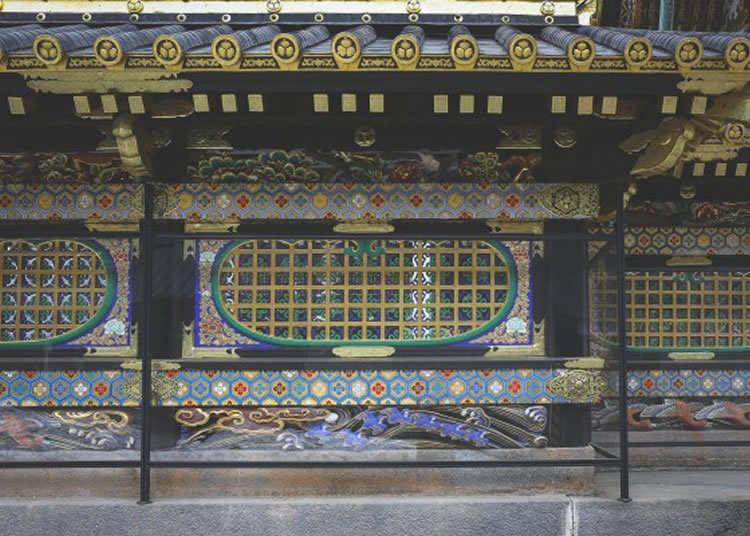 陽明門裡的本殿