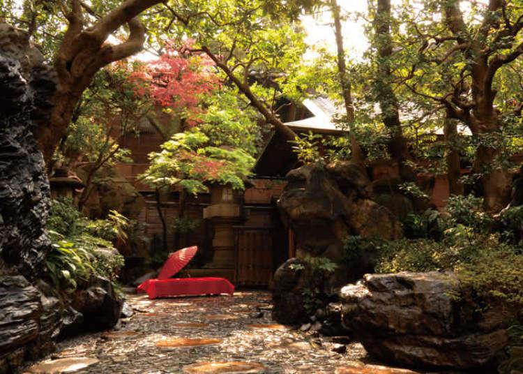 เสมือนดังเเดนมหัศจรรย์! ห้องสไตล์ญี่ปุ่นที่งดงาม กับสวนญี่ปุ่นของร้านขึ้นชื่อ
