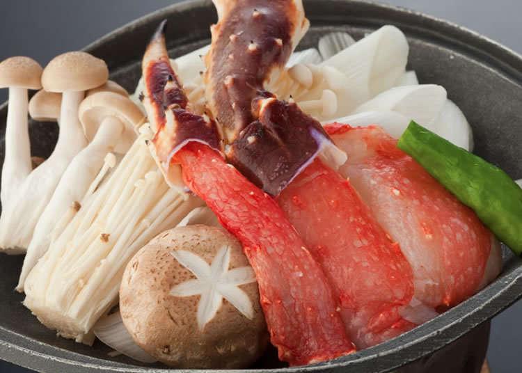 A Rare Experience: Crab and Yamagata Beef