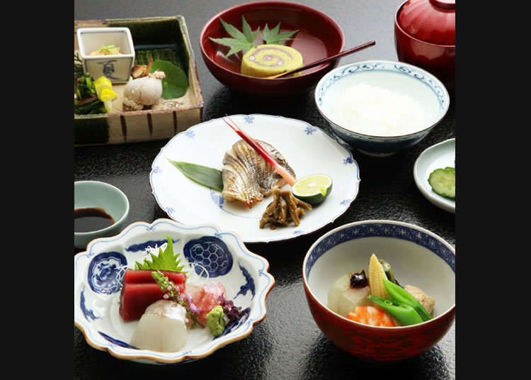 Japanese Lunch Straight from the Meiji Period