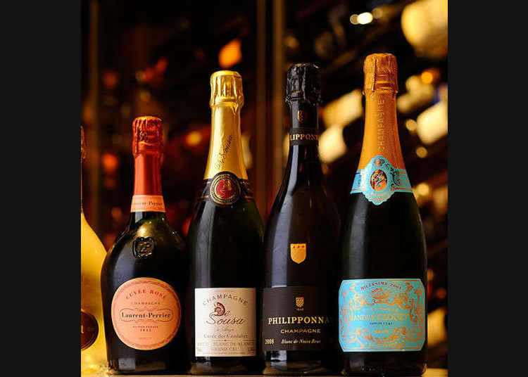 The Champagne Shop of a Famous Sommelier