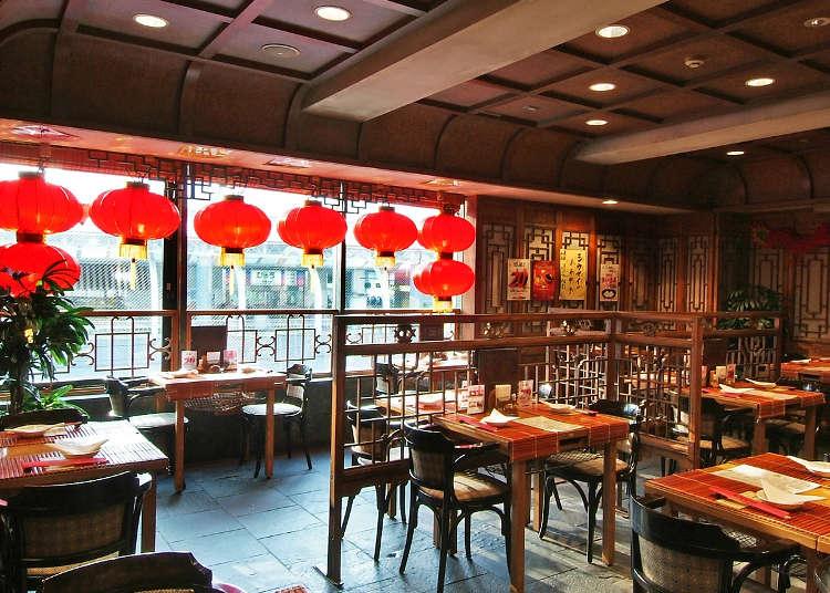 신주쿠에서 식사하려면? 한식 vs 중국식