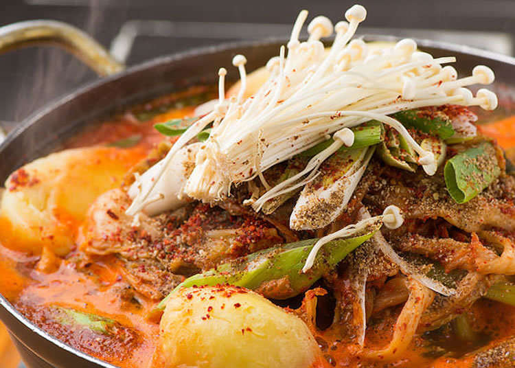 Addictively Rich and Spicy: Gamjatang