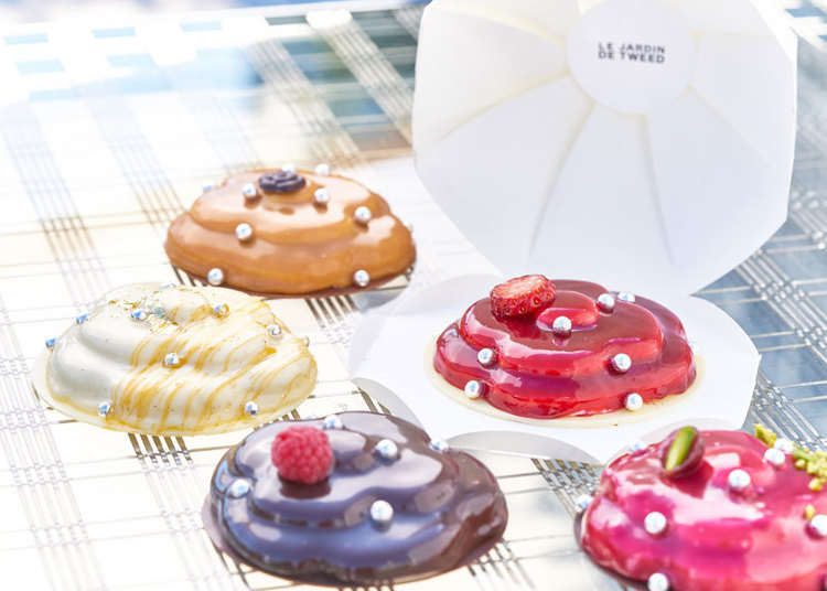 外觀華美亮麗的數量限定甜點