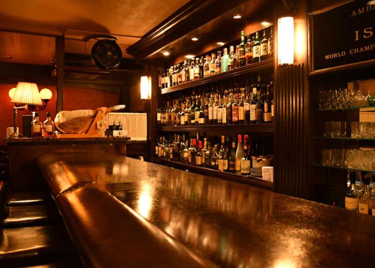 與吧檯調酒師閒聊間的1杯