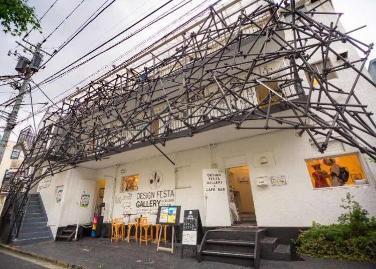 【MOVIE】Design Festa Gallery 原宿具代表性的藝術空間