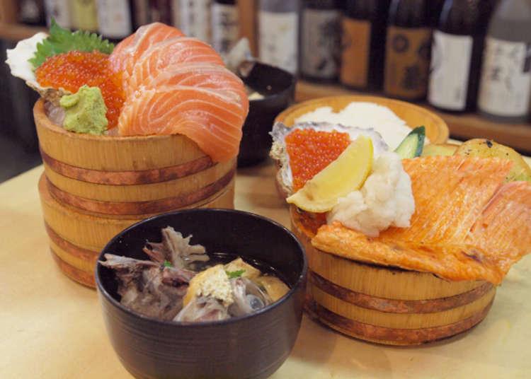 平價美味!三間鮮魚店直營的海鮮丼飯!