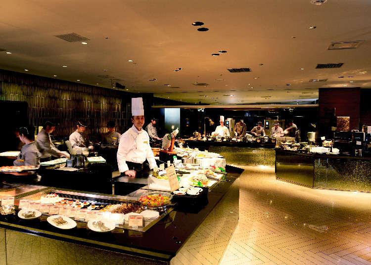 A Resort Hotel Buffet at Tokyo Bay