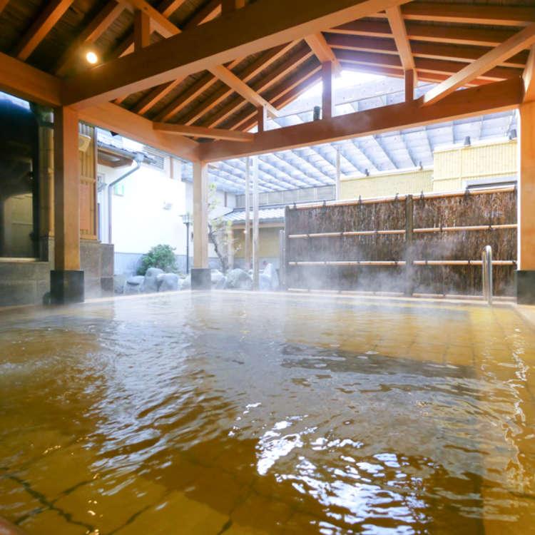 精心讲究的泉质!精选3处东京都内及近郊的天然温泉SPA