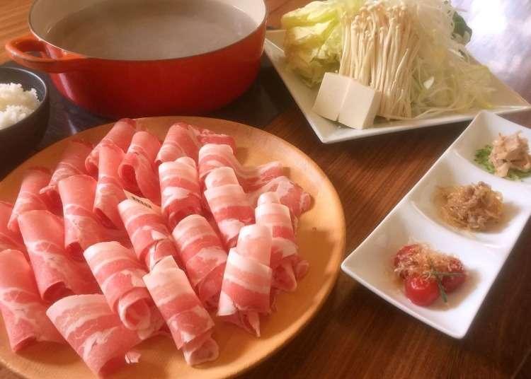 以涮涮锅享用经过严选的名牌猪肉
