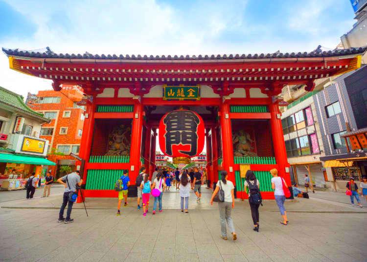 【MOVIE】拜訪淺草寺前必知的7件事
