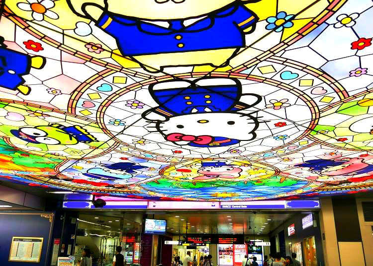 Say Hello to Kitty and Friends at Tokyo's Cutest Train Station!
