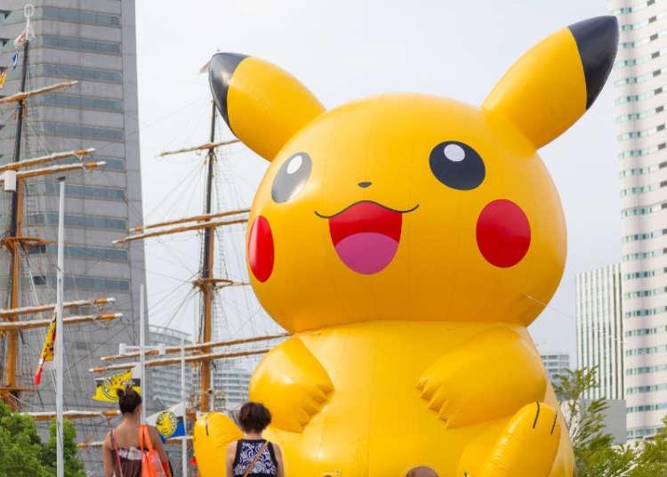 [MOVIE]在橫濱「皮卡丘大量發生中!」