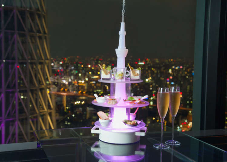 Top of Tree: Exploring the Sky Lounge of Tokyo's Skytree(R)