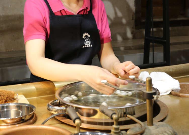 Getting Crafty: the Silk Reeling Demonstration