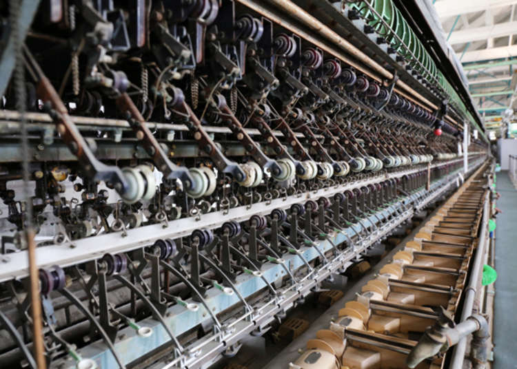 Slip Back in Time at the Silk-Reeling Plant