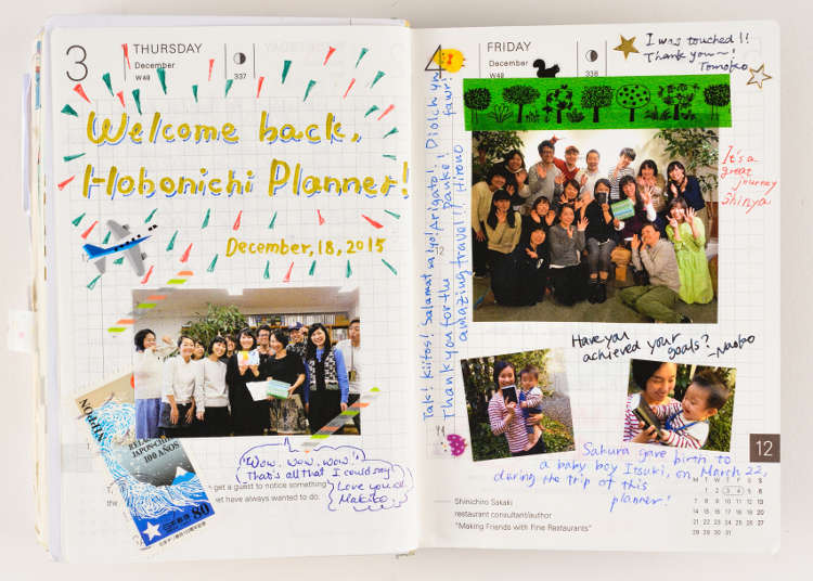 The Traveling Hobonichi