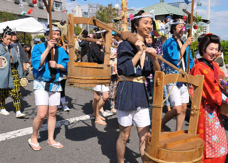 9月に東京を訪れたら見ておきたい!お祭り8選
