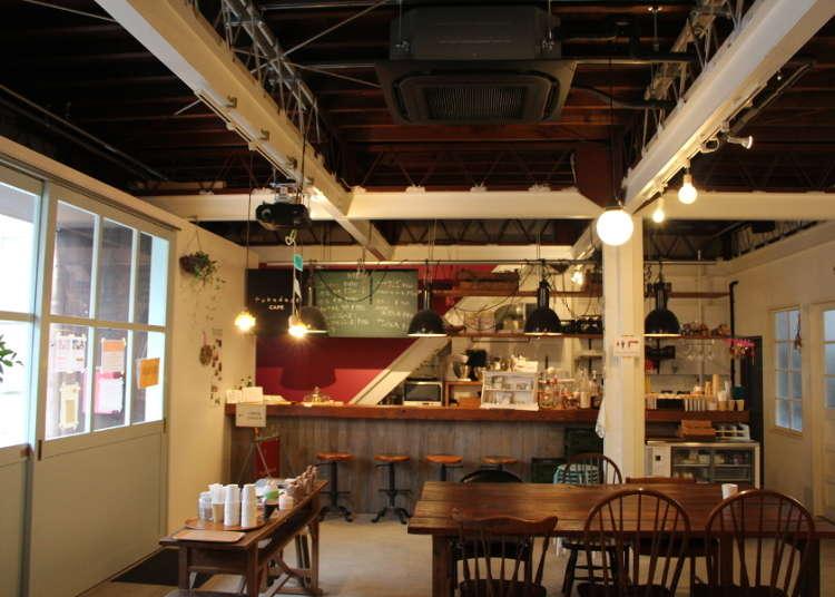 아늑한 카페 'fukadaso cafe'