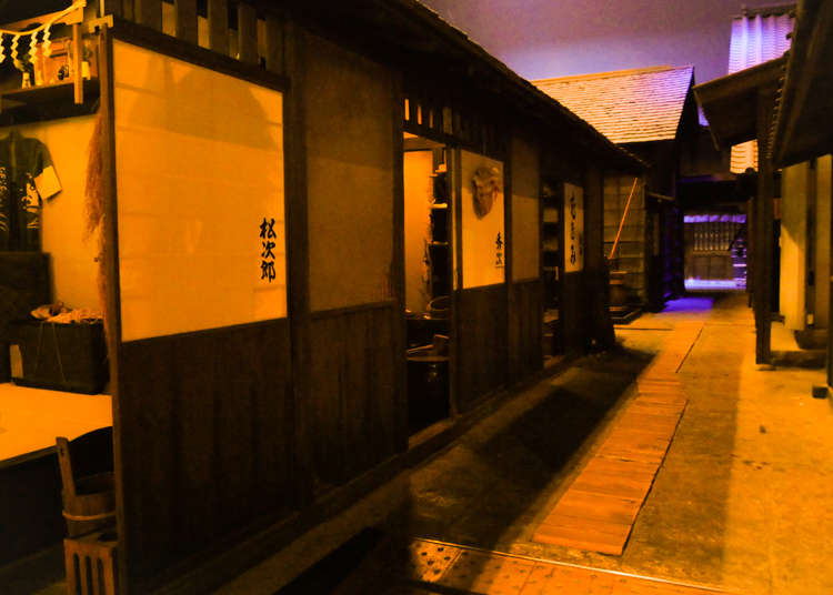 前往江户时代深川的时间旅行