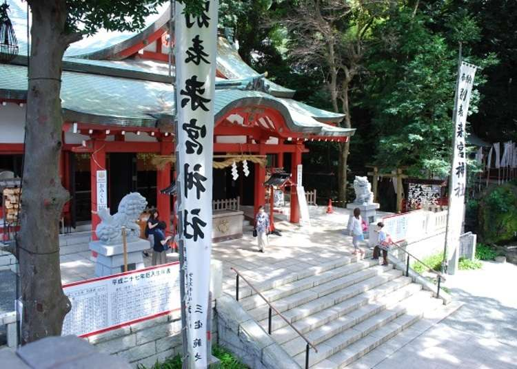 守护热海之地的来宫神社