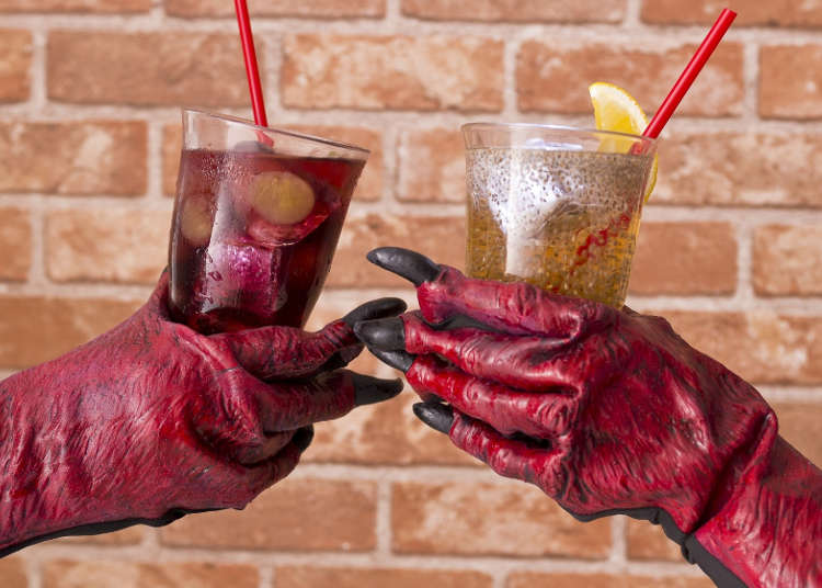 Drink Like Dracula with a Special Halloween Drink Menu!