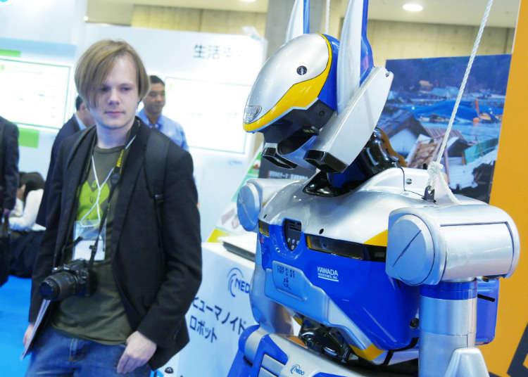 災害時の救助ロボット