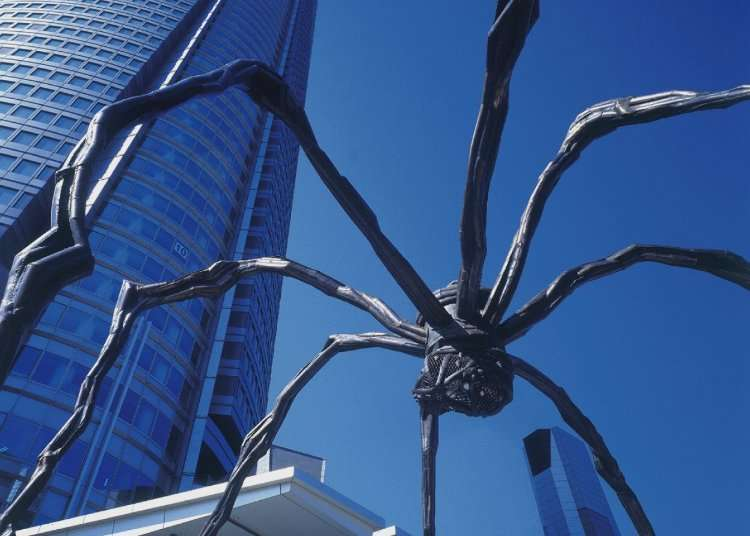 Meet Maman: Roppongi Hills' Friendly Scary Spider Landmark