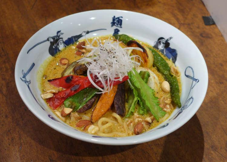 急げ!あの麺屋武蔵の期間限定メニュー『ベジ白湯(パイタン)カレー麺』が10月いっぱいで終了