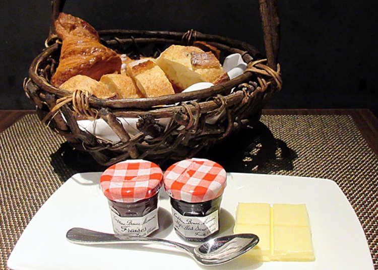 超美味的面包!值得推荐的酒店自助早餐