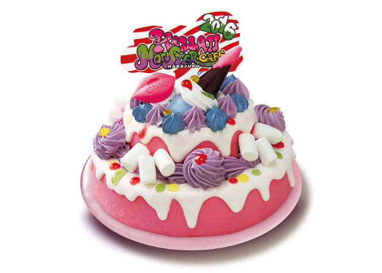 """Out of a Comic Book: The Picturesque """"Kawaii"""" Cake"""