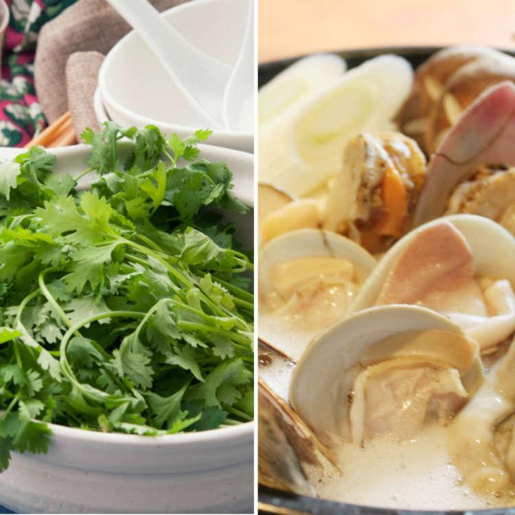 【速報】パクチー山盛りの草鍋vsハマグリまみれの貝鍋!今年HOTなトレンド鍋は!?
