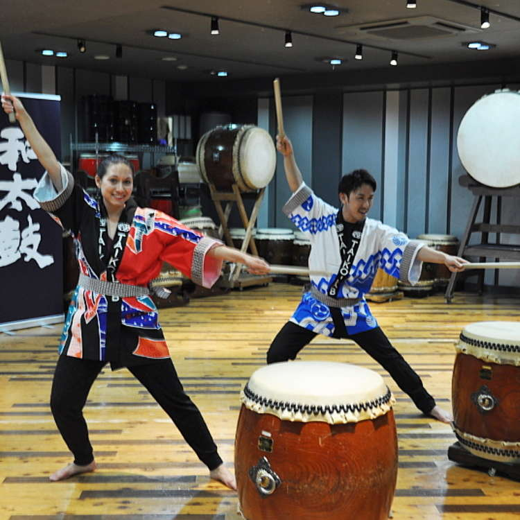 A Japanese Drum Experience at TAIKO-LAB