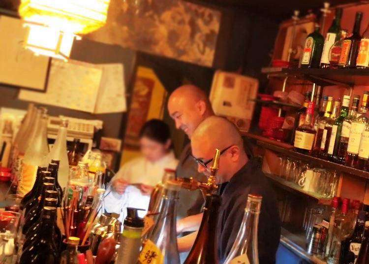 A Visit to Vowz Bar: Savoring Drinks, Snacks, and Japanese Buddhism