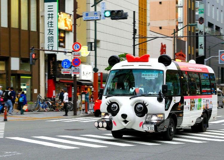 免費又方便的東京都內巡迴巴士總整理