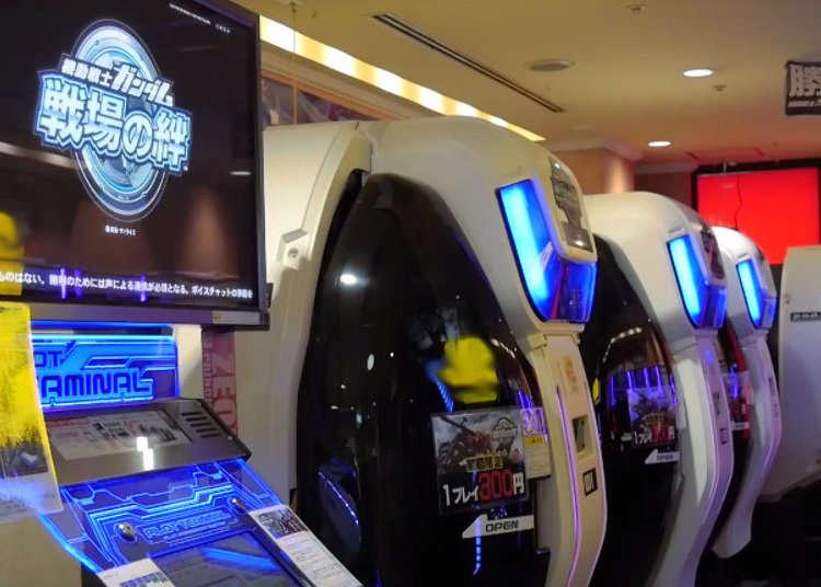 【MOVIE】ゲームセンターでガンダムのパイロットになろう!