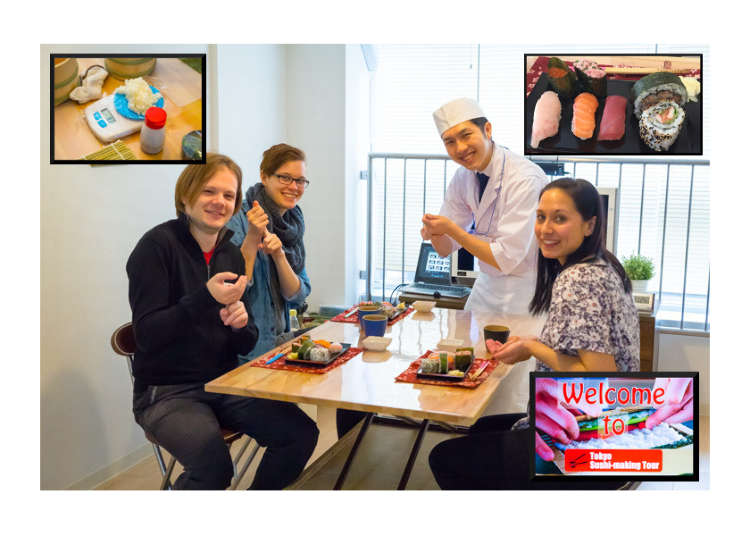 [MOVIE] Learn, Make, and Eat with the Tokyo Sushi-Making Class!