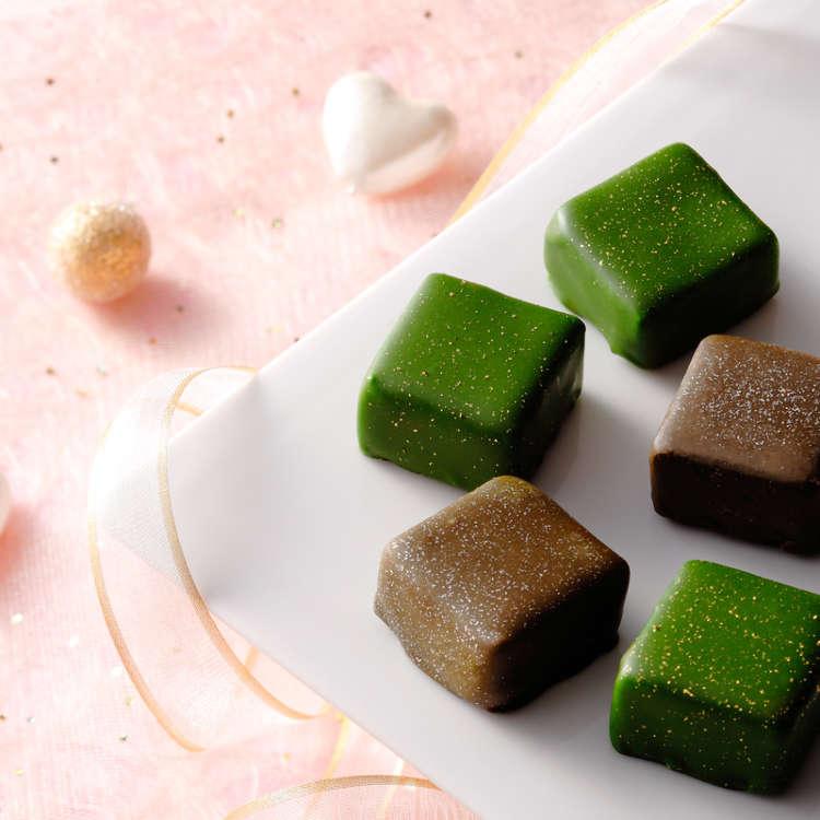 芳香的抹茶和焙茶!祇園辻利的濃厚巧克力