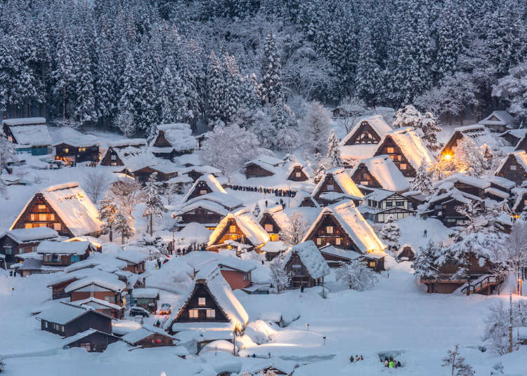 【真实的日本】惊讶!你知道日本是世界屈指可数的大雪国吗?