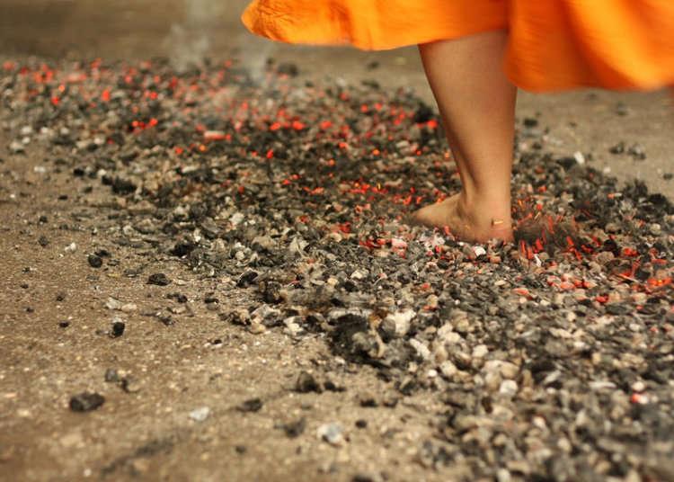 火の上を歩くお祭り!? 高尾山で催される「火渡り祭」