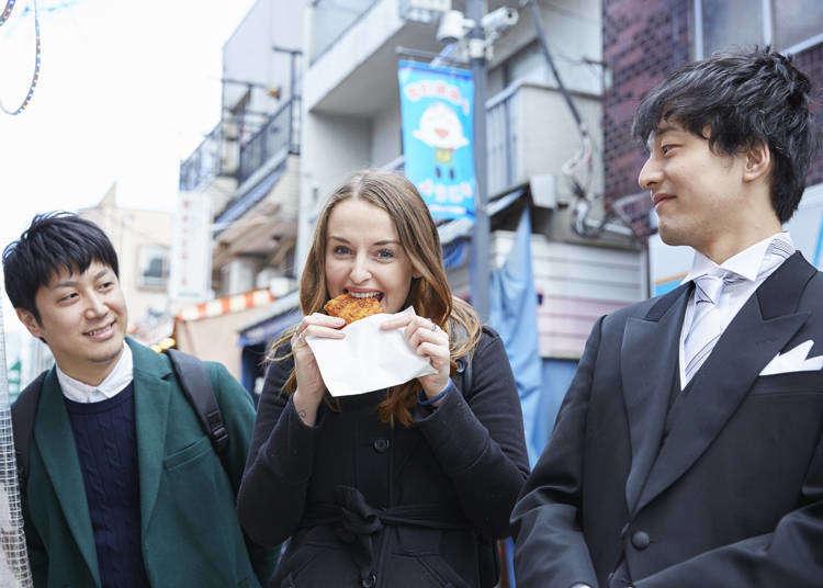 [MOVIE] 東京執事物語:外国人美女とB級グルメ巡り…お嬢さまだけにディープなスポットをご案内いたします