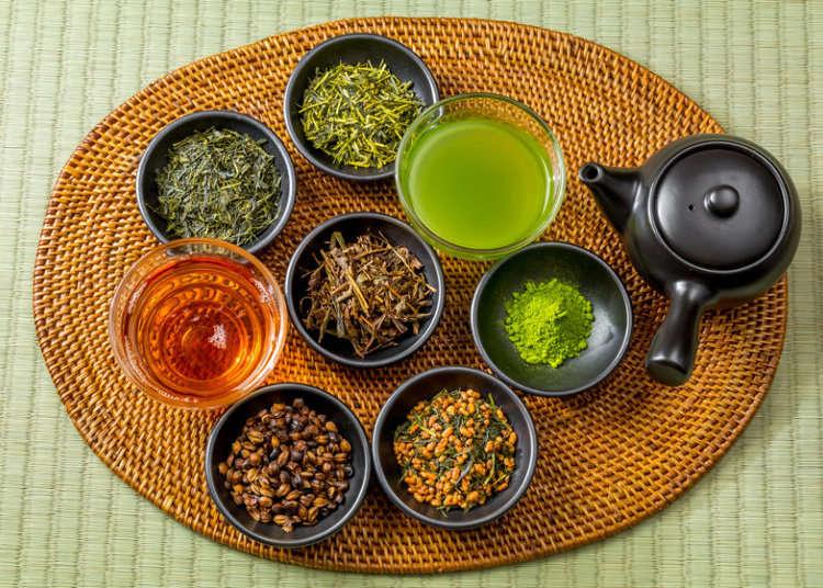 お茶の国・日本で多彩なお茶を楽しもう!
