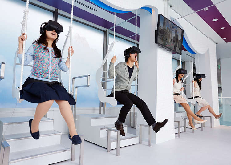 東京&近郊で最新「VR体験」ができるスポットまとめ