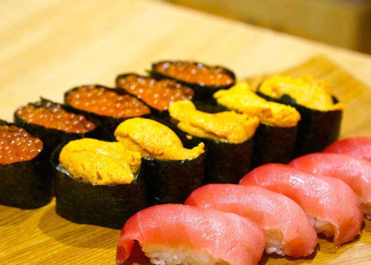 高級壽司吃到飽只要4000日圓!銀座2間人氣壽司店